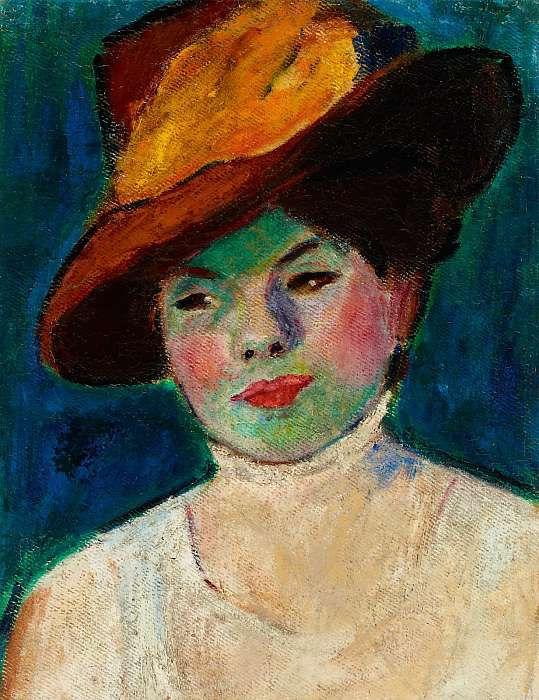 Színésznő (1907), Czigány Dezső