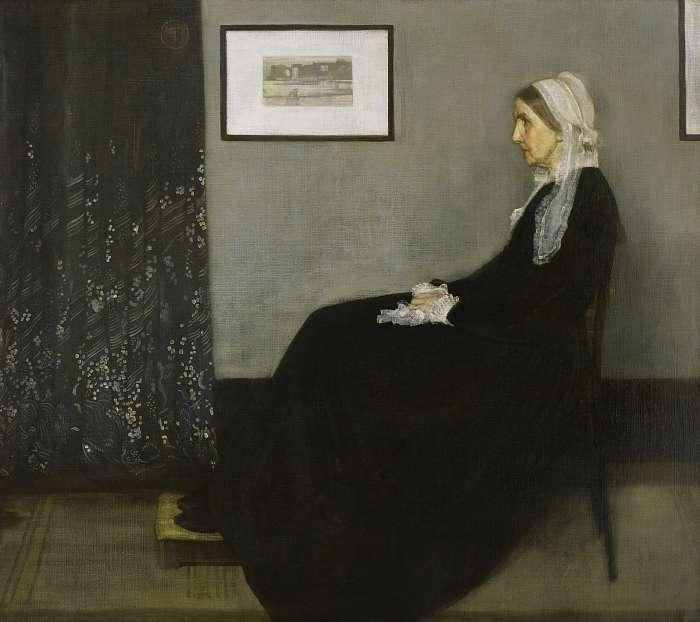 Whistler anyja, James McNeill Whistler