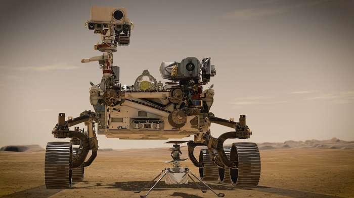 A Perseverance Mars Rover és az Ingenuity portréja (Illusztráció), Fotóművészek