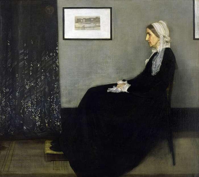 Whistler anyja (színverzió 1.), James McNeill Whistler