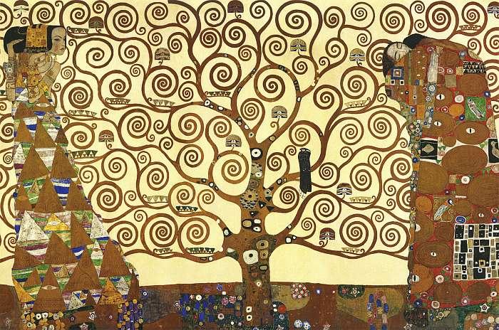 Az élet fája (átdolgozás), Gustav Klimt