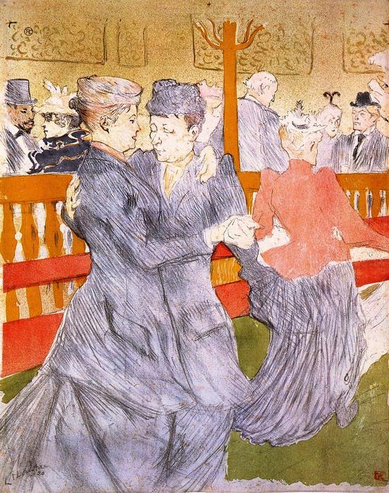 Tánc a Moulin Rouge-ban, Henri de Toulouse Lautrec