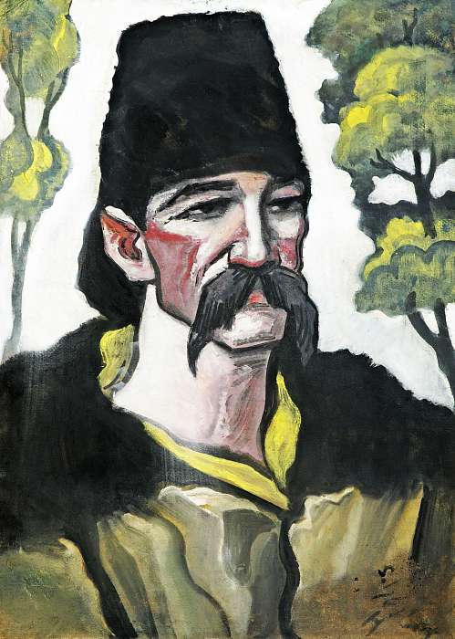 Kucsmás férfi, Scheiber Hugó