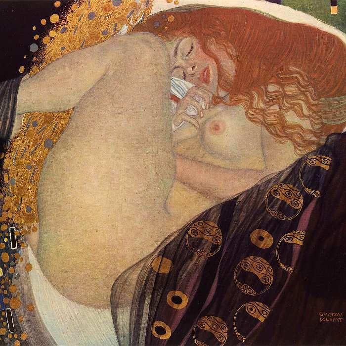 Danae, Gustav Klimt