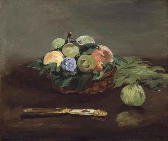 Gyümölcskosár (1864), Edouard Manet
