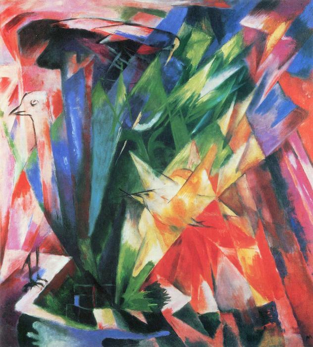 Szárnyasok, Franz Marc