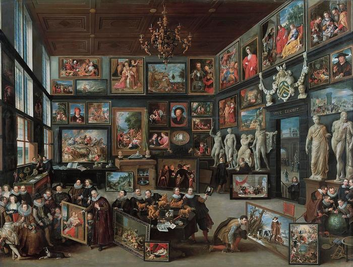 A Cornelis van der Geest galériája, Willem van Haecht