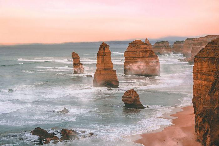 12 Apostol, Princetown, Ausztrália,