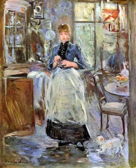 Az ebédlőben, Berthe Morisot