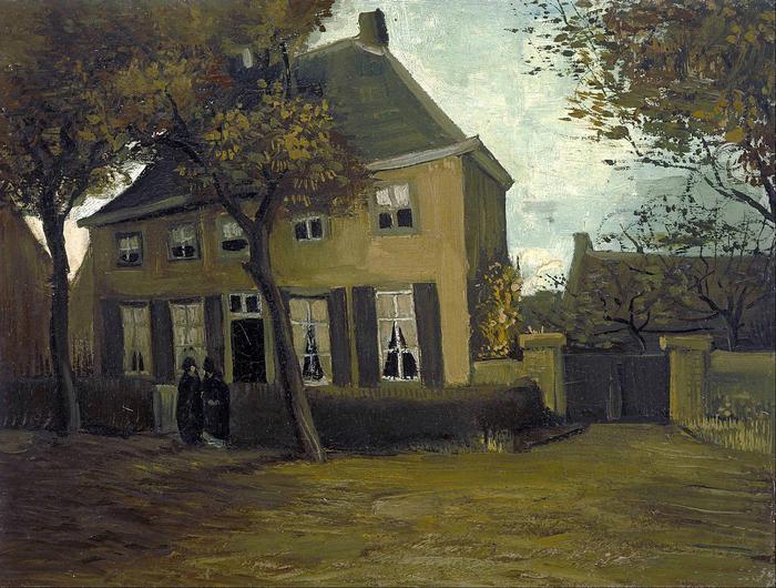 A Nuenen-i plébánia, Vincent Van Gogh