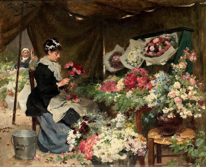 Virágpiac, Victor Gilbert