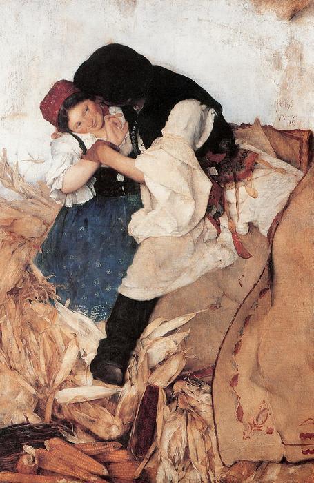 Tengerihántás (1885), Hollósy Simon