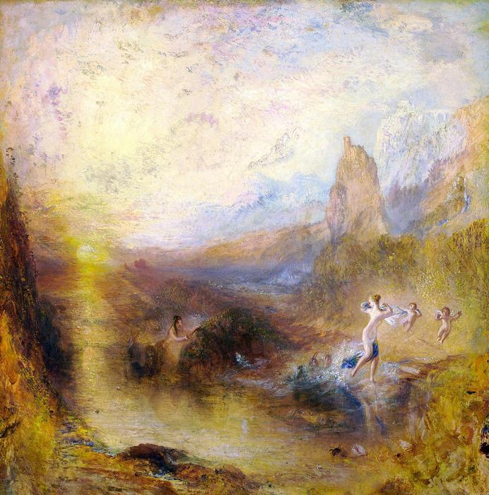 Scylla és Glaucus, William Turner