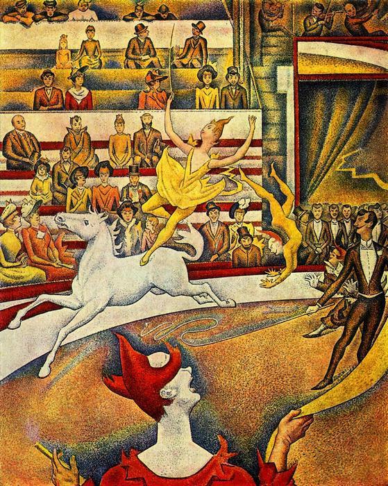 A cirkusz, Georges Seurat