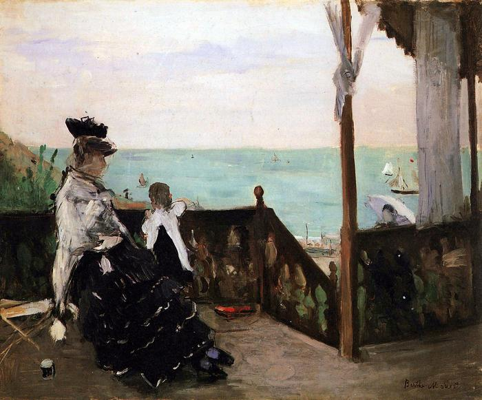 Villa a strandon, Berthe Morisot