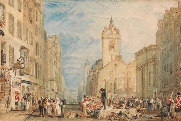 High Street, Edinburgh, William Turner