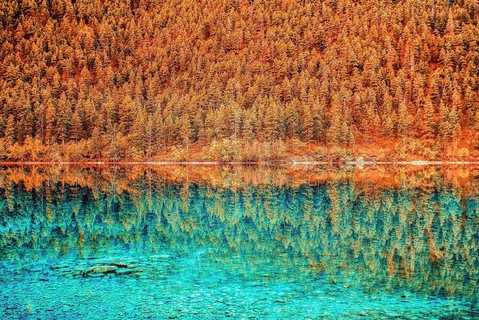 Tükröződés, Morain tó, Kanada, Partner Kollekció