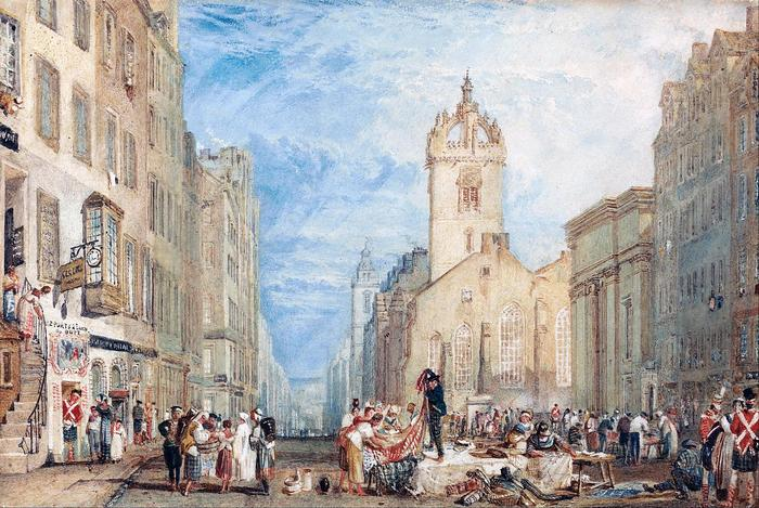 High Street, Edinburgh (színverzió 1), William Turner