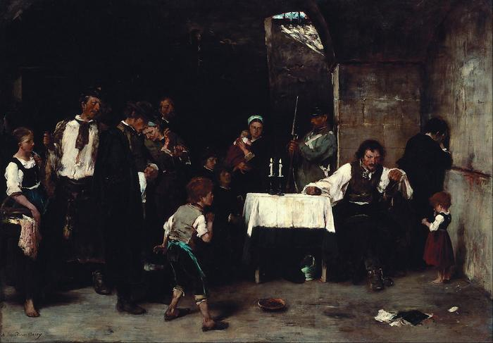 Siralomház, Munkácsy Mihály
