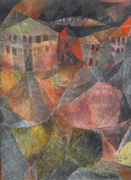 Das Hotel, Paul Klee