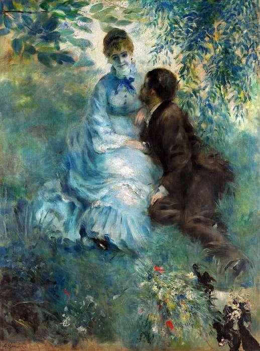 Szerelmespár, Pierre Auguste Renoir