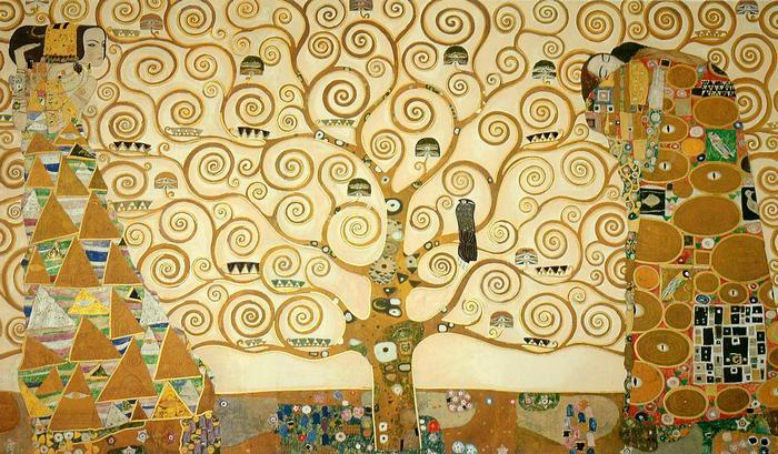 Az élet fája, Gustav Klimt