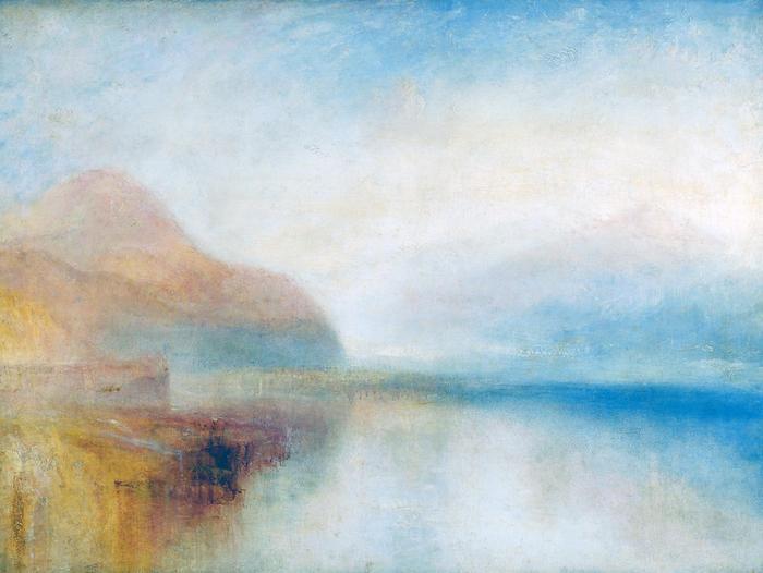 Reggeli fények (színverzió 1), William Turner