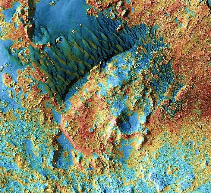 Arabia dűnék, MARS (színezett), Fotóművészek
