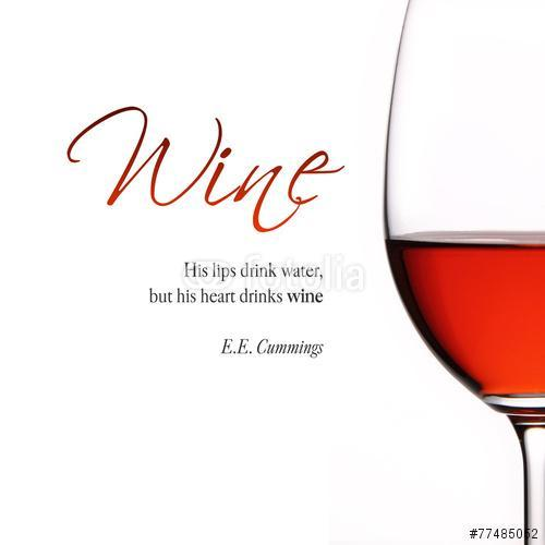 Inspiráló idézet a borról., Premium Kollekció