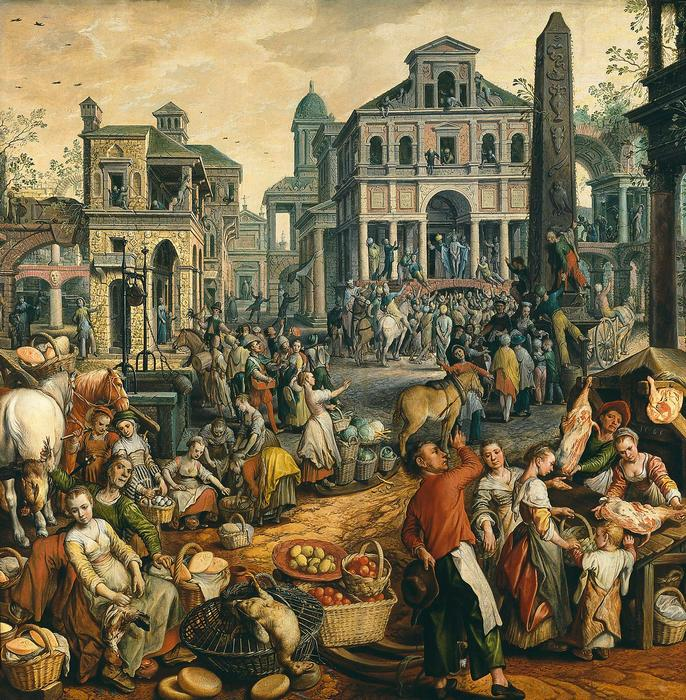 Ecce Homo - Piaci jelenet, Joachim Beuckelaer
