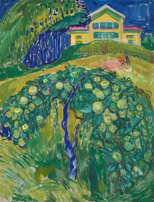 Almafa a kertben, Edvard Munch