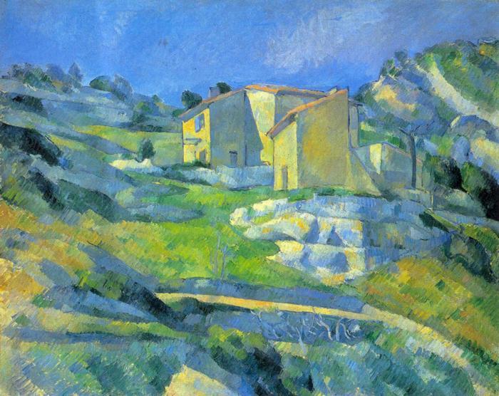 Ház Provence-ban, Paul Cézanne