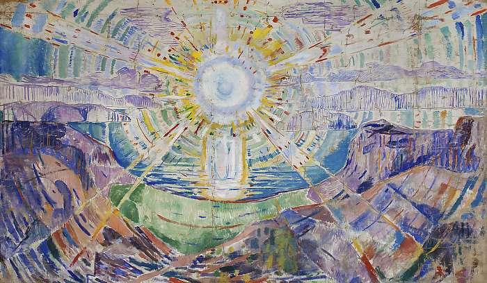 A nap (verzió2), Edvard Munch