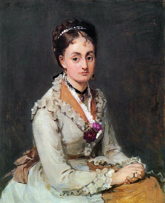 Edma portréja, Berthe Morisot