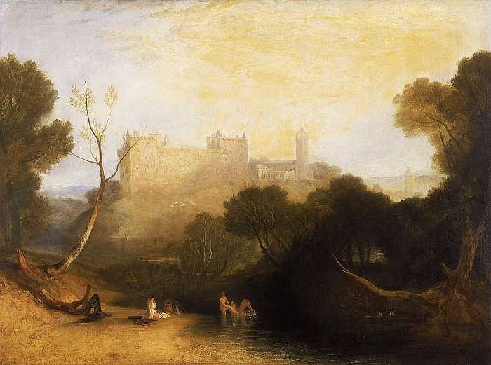 A linlithgow-i várpalota, William Turner