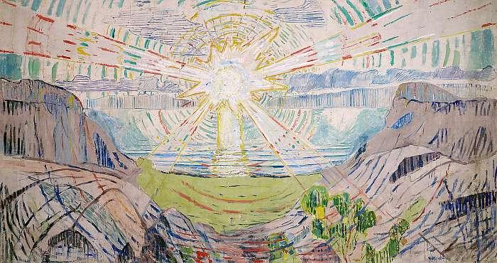 A Nap, Edvard Munch