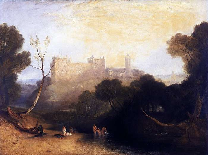 Linlithgow-i várpalota (Színverzió 1), William Turner