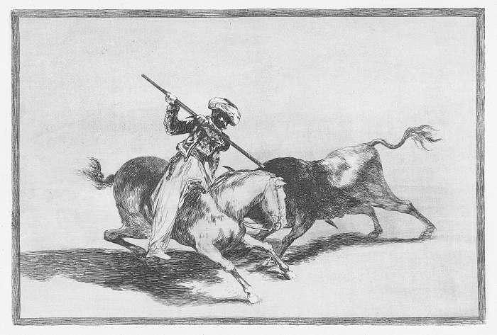 Gazul, az első igazi torreádor, Francisco José de Goya