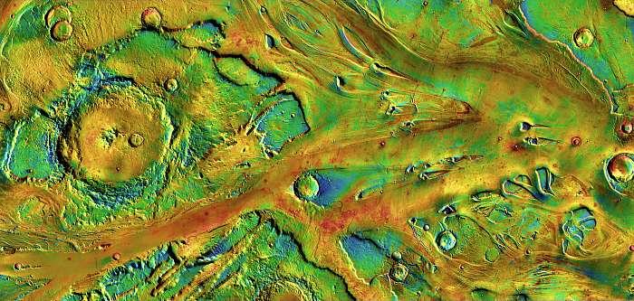 Kasei csatornák, Mars, Fotóművészek
