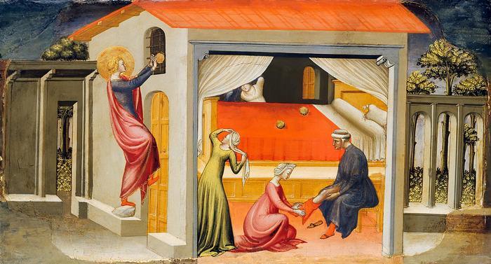 Szent Miklós adománya, Bicci di Lorenzo