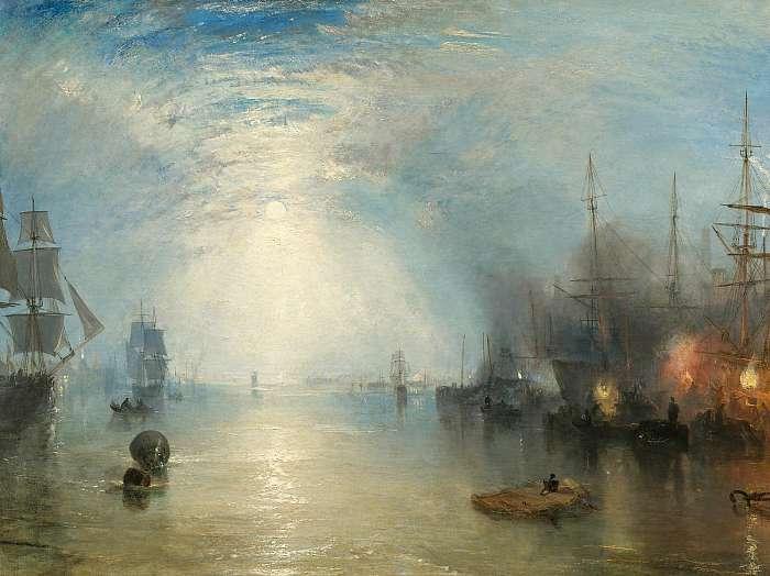 Kikötő holdfényben, William Turner