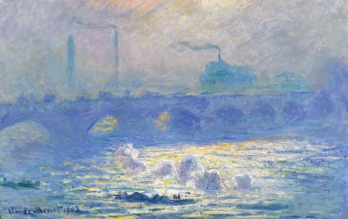 Waterloo-híd Londonban (1903), Claude Monet