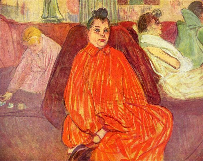 Dívák szalonja, Henri de Toulouse Lautrec