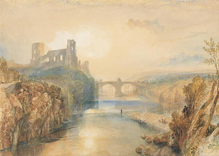 Barnard Castle látképe, William Turner