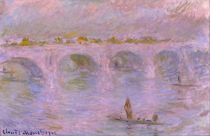 Waterloo-híd Londonban (1902), Claude Monet