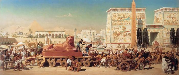 Izrael népe Egyiptomban (feldolgozás), Edward John Poynter
