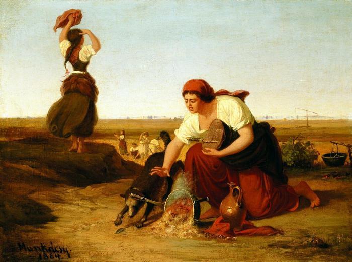 Bogrács, 1864, Munkácsy Mihály