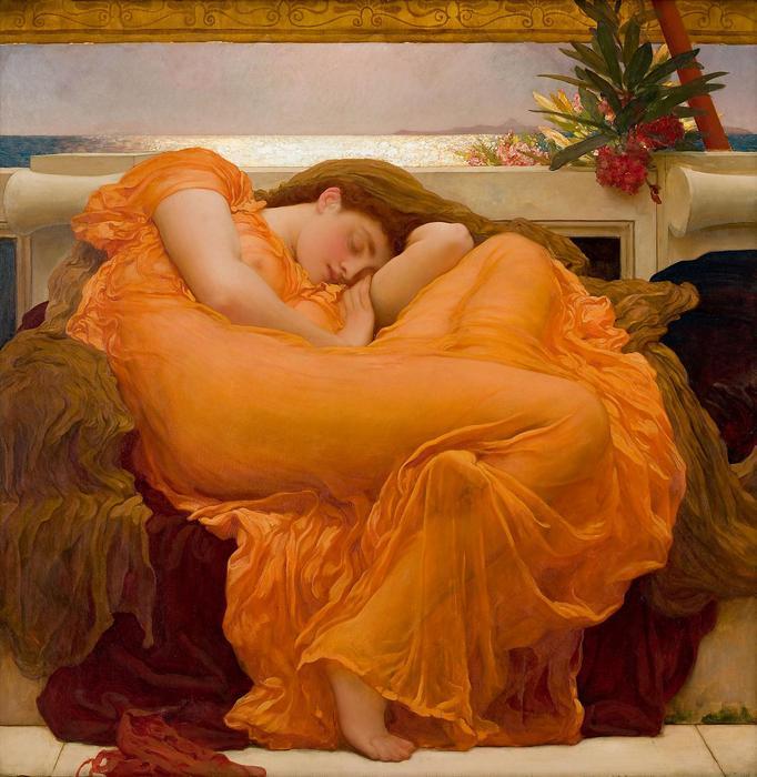 Lángoló Június, Frederic Leighton