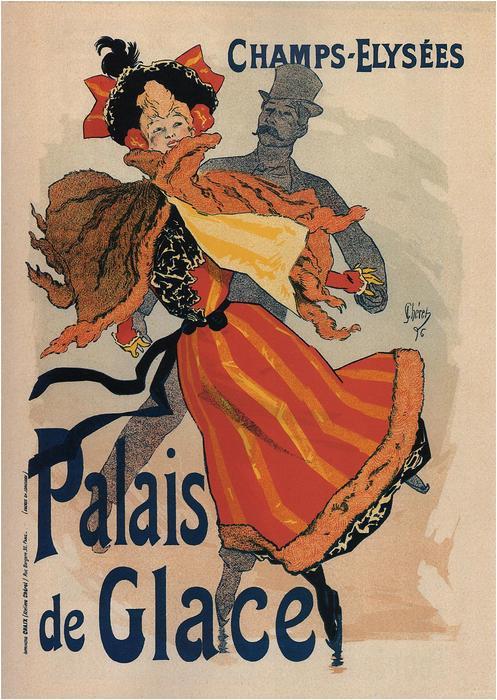 Palais de Glace (Champs-Elysées), Jules Chéret