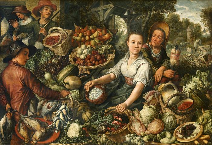 Zöldségpiac, Joachim Beuckelaer